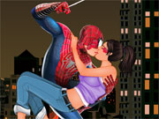 Spiderman Kissing 2