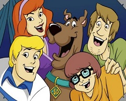 Scooby Doo And Friends Sliding