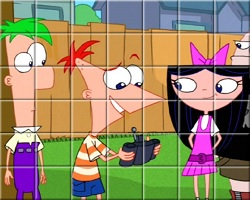 Phineas And Ferb Spin Puzzle