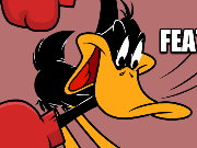 Daffy Duck boxing