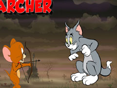 Tom  Jerry skill archer