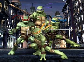 Teenage Mutant Ninja Turtles -  Street Brawl