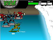 Teenage Mutant Ninja Turtles - Sewer Surf Showdown