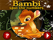 Bambi Spot the Numbers